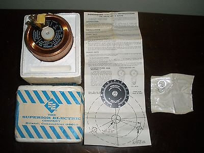 Superior Electric Powerstat Variable Autotransformer 12 Series Part 06010 NEW