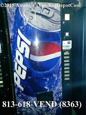 Dixie Narco 501t - 8 Select Multi Price - Cans/Bottles - Pepsi Can - MDB/DEX #3