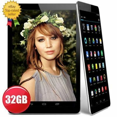 """2017 10"""" Inch Google Android 5.1 Quad Core Dual Camera Wifi Tablet PC 32GB UK"""