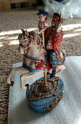 Vanmark Clowning in America - The Carousel Waltz CO88923 - Great Condition w/Box