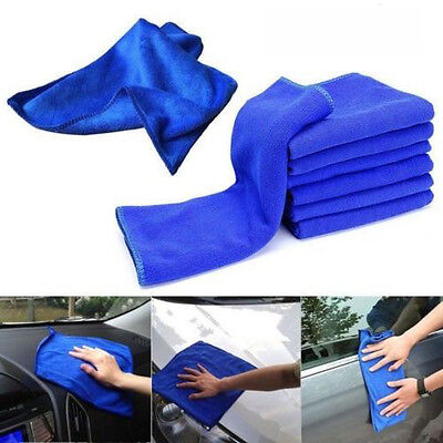 2PC Large Microfibre Cleaning Auto Car Detailing Soft  Cloths Wash Towel  Duster