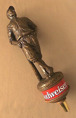 Limited Edition BUDWEISER Heritage Figural BASEBALL Player BEER TAP HANDLE