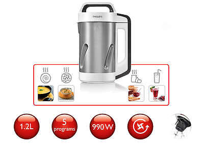 Philips Viva Collection  Hr2201/81 Soup Maker 1.2 Ltr  Free Shipping