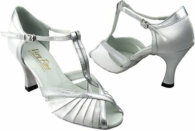Very Fine Women's Salsa Ballroom Tango Latin Dance Shoes Style 2707 Bundle wi...