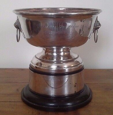 Vintage large silver trophy, silver, trophy, antique, trophies, sporting trophy
