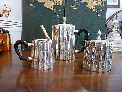excellent quality silver plated coffee/tea set