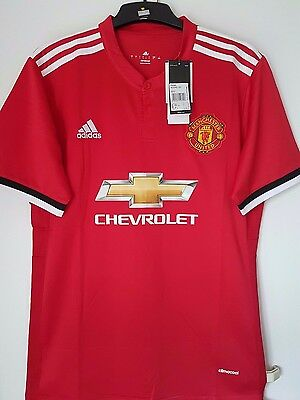 Brand New Manchester United Home Jersey 2017/2018 - All Sizes