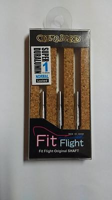 COSMO FIT SUPER DURALUMIN NORMAL LOCKED #1 SHAFTS 13mm  FOR FIT FLIGHTS ONLY