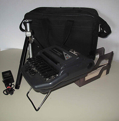 Stentura 400 Electric Stenograph Bundle Accessories, Works, Nice Condition