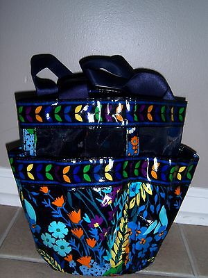 Vera Bradley Midnight Blues Shower Caddy