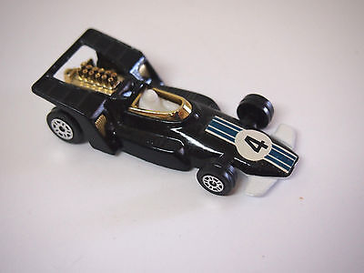 1973 Corgi Juniors Black #4 Formula 5000 Racing Car #27 Gt. Britain