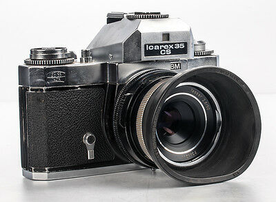 Zeiss Ikon Voightlander Icarex 35CS w/ Zeiss tessar 50mm f/2.8 - FOR PARTS
