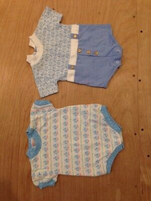 Vintage Baby Clothes Lot Of 2 Size 6 Months