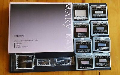 Mary Kay Compact Pro + 8 Makeup Fillers + 3 Makeup Brushes