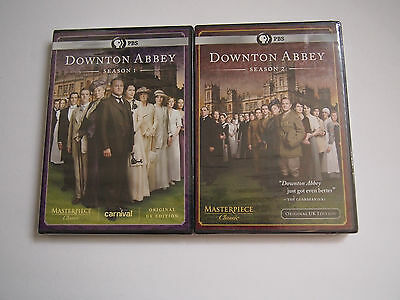 Masterpiece Classic: Downtown Downton Abbey - Seasons 1,2  (DVD) NEW Sealed