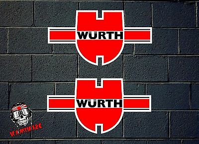 Sticker Sticker Autocollant Adesivi Aufkleber Decal Adesivo Würth