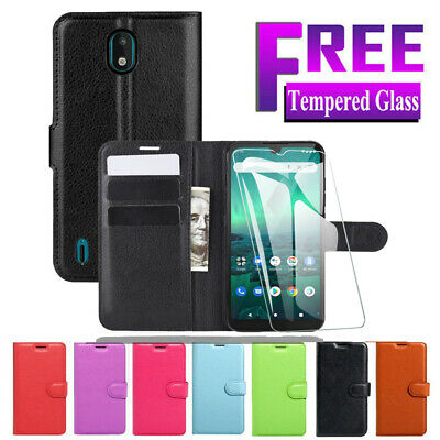 Wallet Leather Card Holder Flip PU Case Cover For Nokia 3 5  6 8+ FREE Protector