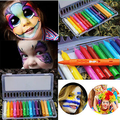 Stage Party Make Up Cosplay Funny Face Body Paint Colorful Pen Crayon Pencils