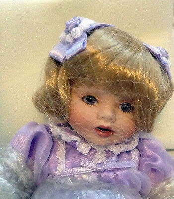 """ANGELICA Tiny Tot 6"""" Porcelain Doll"""