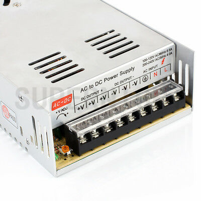 DC 12V 30A 360W Regulated Switching Mode Power Supply Driver Adapter Transformer