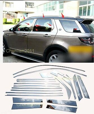 Full Window Frame Sill Trim Cover for 2015-2017 Land Rover Discovery Sport 22pc