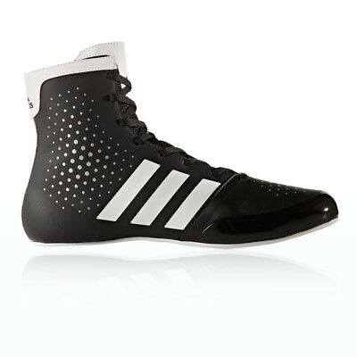 Adidas KO Legend 16.2 Mens White Black Boxing Sports Shoes Boots