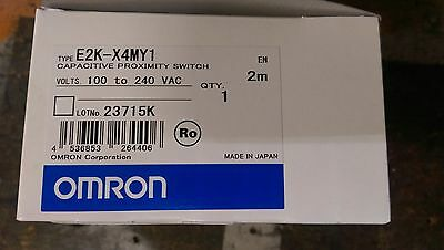 Omron Capacitive Proximity Switch E2K-X4MY1