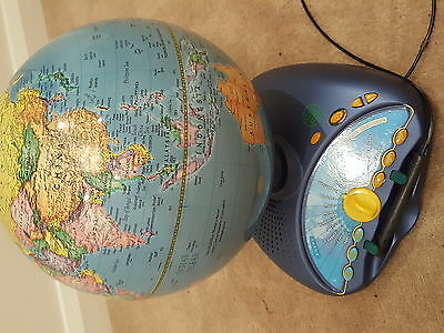 Leapfrog Quantum Leap Interactive Talking World Planet Earth Globe Map Not Work