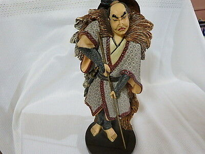 "12 "" Inch Japanese Chinese ? Samurai Warrior Statue Figure"