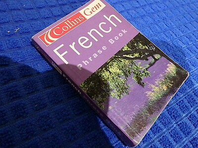 Collins Gem French Pocket Discreet Phrase Book 5000 Word Dictionary Travel Tips