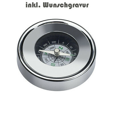 Compass Reflects Cork incl. Engraving Engraved Laser Engraving