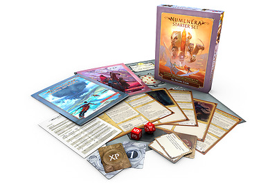 Numenera Starter Set - Tabletop Role Playing Game by Monte Cook