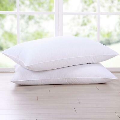 Duck Feather Or Goose Feather And Down Pillows, Comfortable Hotel Quality