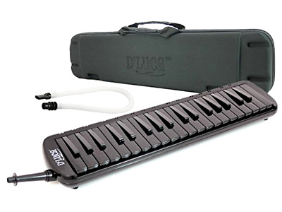 37 Piano Keys Jungle Melodica with EVA Carrying Case Musical Instrument Gadget