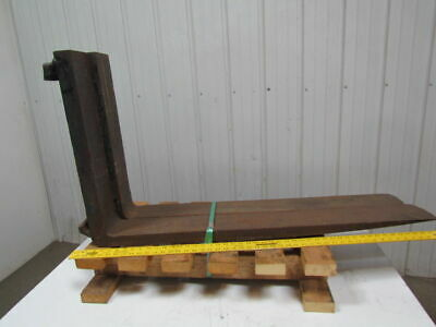 """1 Pair Class 3 Forklift Forks 5""""x42"""" 1-3/4"""" Thick 20"""" carriage"""