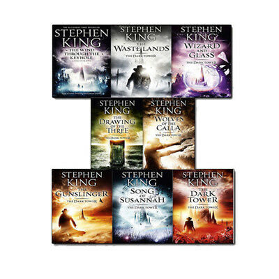 Stephen King The Dark Tower Series Collection 8 Books Box Set Pack(Book 1-8) NEW