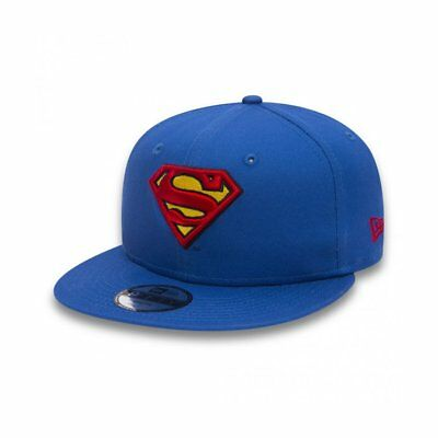 80489081, Gorra New Era – 9Fifty Superman Team Classic Snap Jr azul/rojo, Niños,