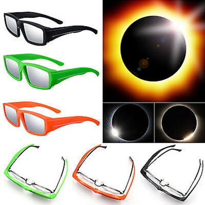 Hot Plastic Solar Eclipse Glasses ISO and CE Certified Sun Glasses New