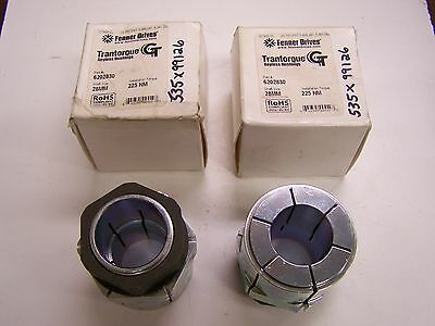 Qty 2 Fenner Drives 6202830 Trantorque GT Keyless Bushing 28mm New