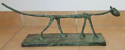 "Bronze Sculpture ""Le Chat"" Giacometti Figurine Figure"