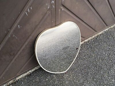 Vintage Heart Shaped Wall Mirror