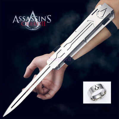 Assassin's Creed Movie Cosplay Hidden Blade Stainless Resilience Catapult Launch