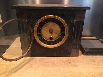 Vintage Stone Clock Casing For Spares