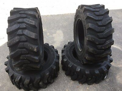4 NEW Camso sks532 12-16.5 Skid Steer Tires for Bobcat & others 12X16.5 -12 PLY