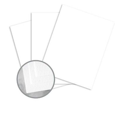 Classic Laid Avalanche White Paper 8.5 x 11 24lb Writing 500/Ream