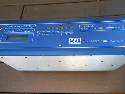 Schweitzer SEL-311C Transmission Protection and Automation System trip / reclose