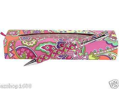 NWT Vera Bradley Ball Point Pen in Pink Swirls with Box Gift 11002 179 EZ