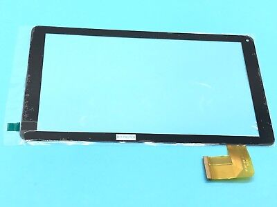 Schwarz - Touchscreen Display Glas Digitizer kompatibel Mit Denver TAQ-10172MK3