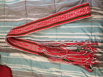 Adult Sized Sash Belt Woven, Native American Indian, Navajo