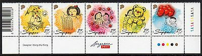 SINGAPORE MNH 2009 SG1831-35 Greetings Stamps - Let's Celebrate